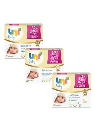 Uni Baby Sensitive Islak Havlu 36 Paket Kapakli - 56X36 (2016 Yaprak) Renkli